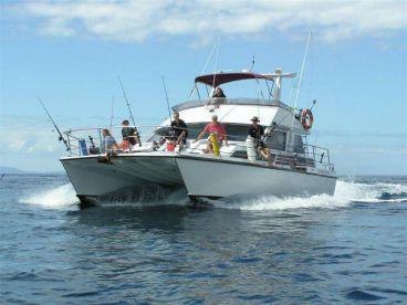 Double Rum Fishing Charters, Whangaparaoa