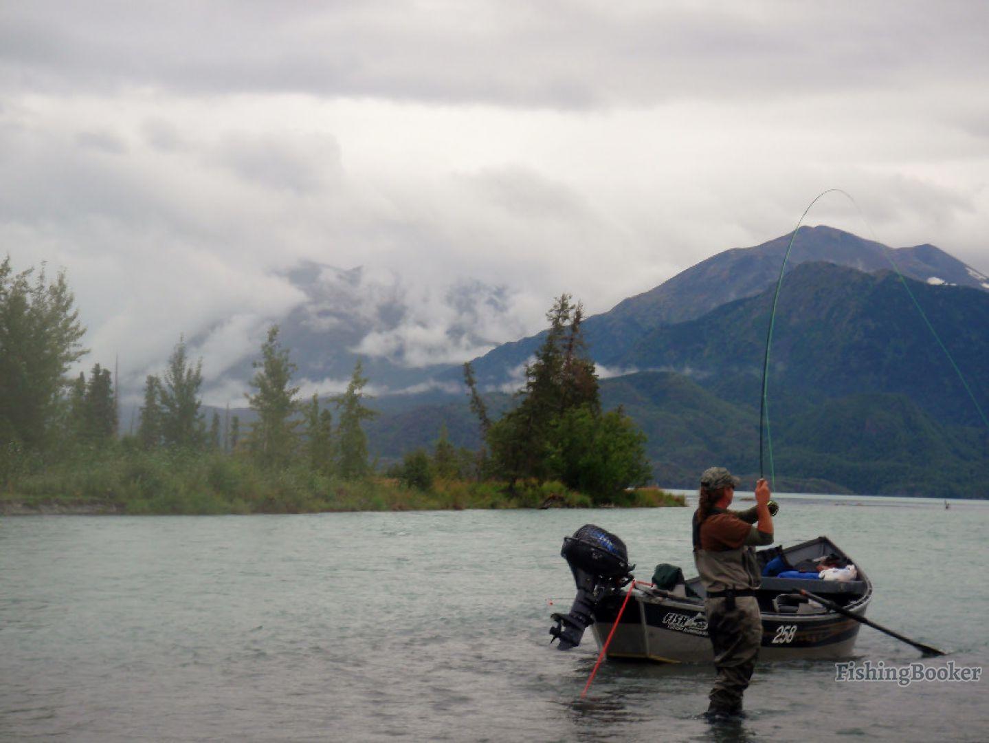 Alaskan angling adventures cooper landing alaska for Cooper landing fishing