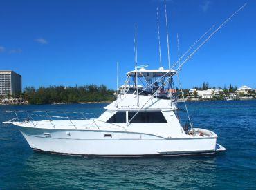 Hunter Charters - 42' Hatteras, Nassau