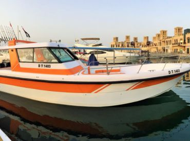 35ft Super Deluxe - Deep Blue Sea, Dubai