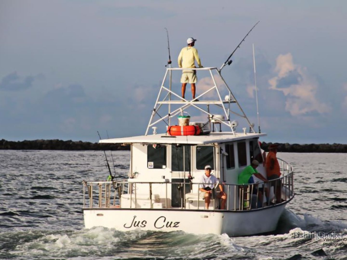 Jus cuz fishing charters orange beach alabama for Fishing orange beach al