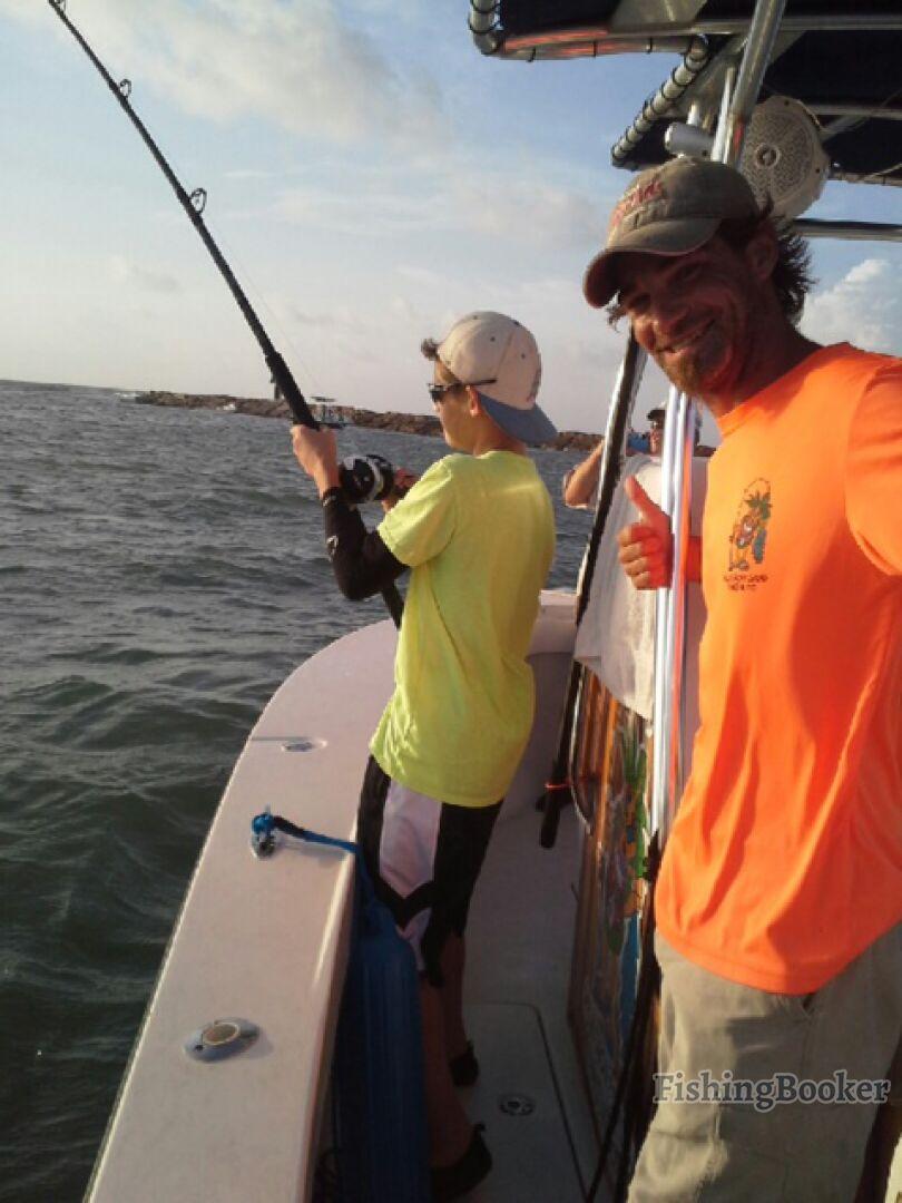Galveston fishing charter co 2 galveston texas for Fishing spots in galveston