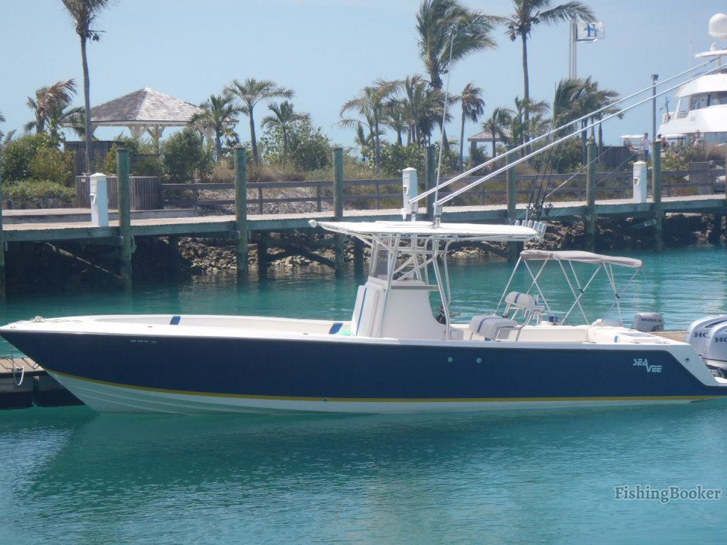 Reel deal 32 sea vee nassau bahamas for Nassau fishing charters