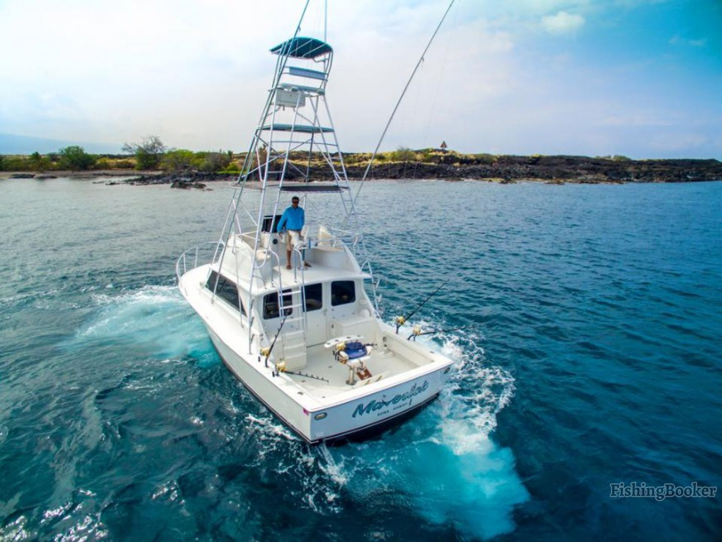 Maverick sportfishing kailua kona hawaii for Kona fishing charters
