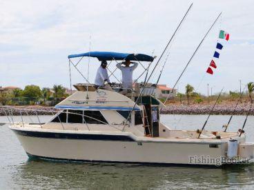 Escualo Fleet - White Marlin 36', Mazatlán