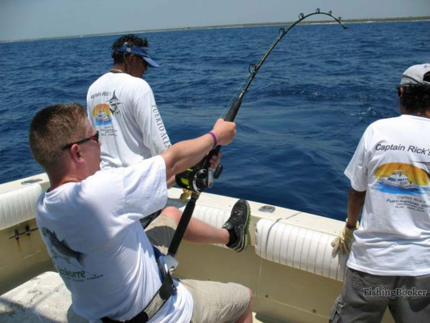 Captain rick s 35 my obsession playa del carmen for Obsession fishing charters
