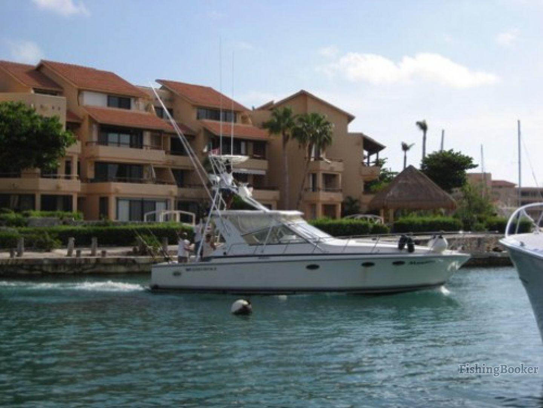 Captain rick s 38 manetto playa del carmen mexico for Playa del carmen fishing charters