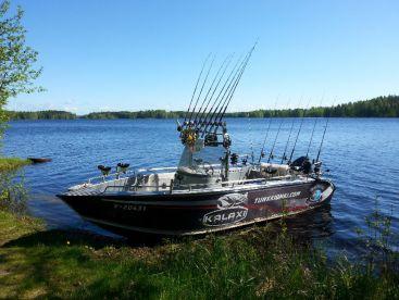 Active fishing in Finland!, Naarajärvi