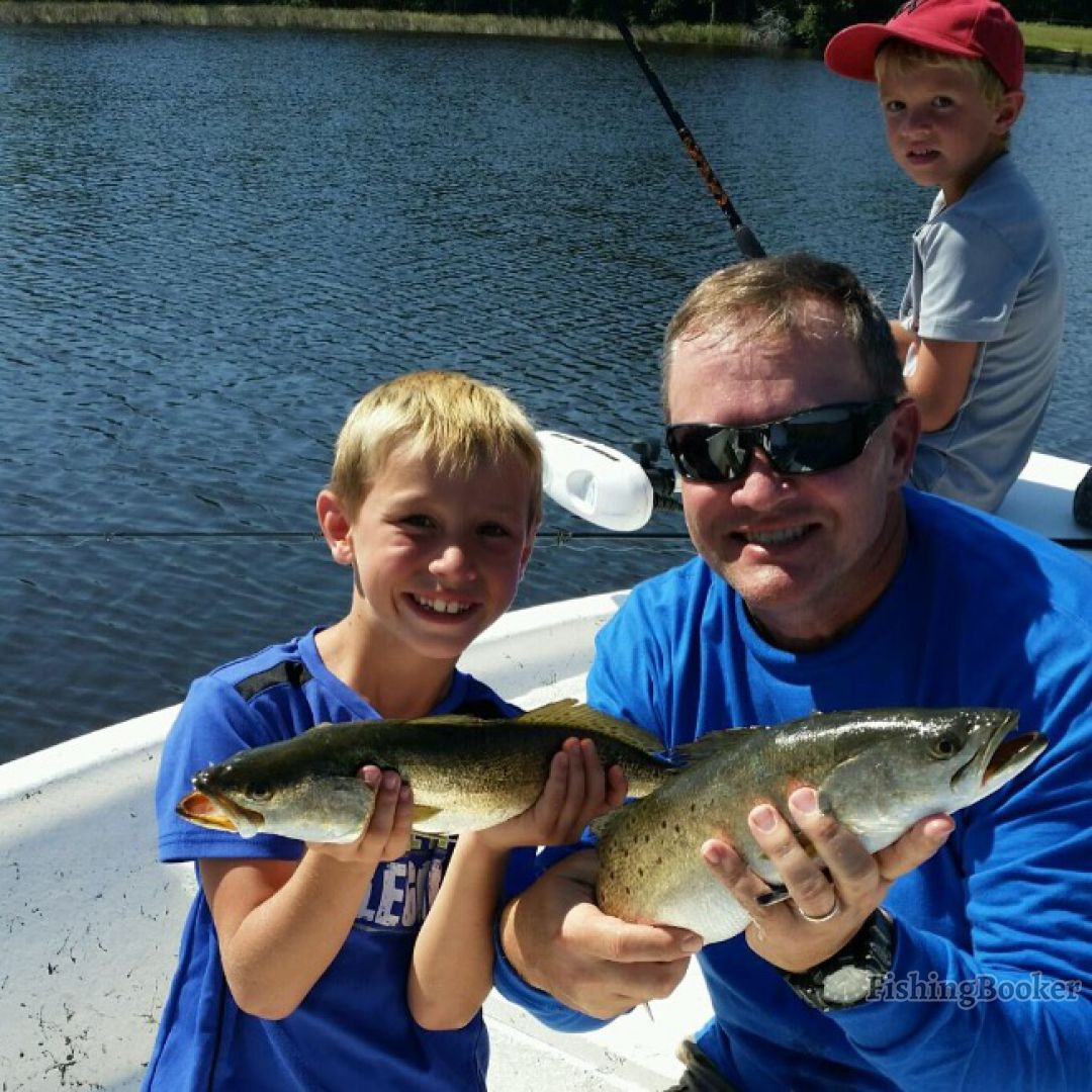 Tips For Mentored Youth Trout Fishing Day In Pennsylvania: Finatics Inshore Fishing Charters, Dauphin Island, Alabama