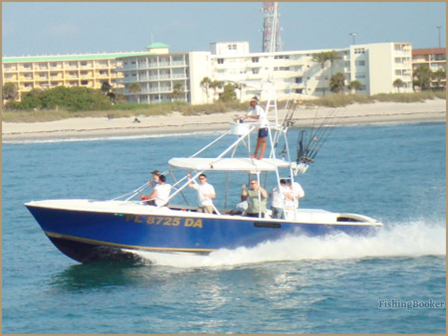 Ofishal business charters ii port canaveral florida for Port canaveral fishing