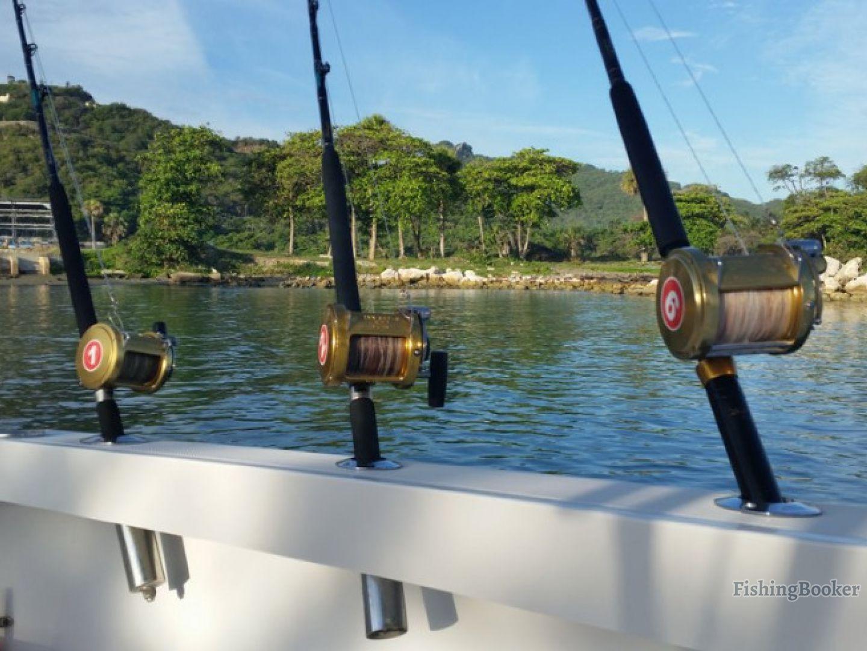 Buscapie charters fishing time punta cana dominican for Punta cana fishing charters