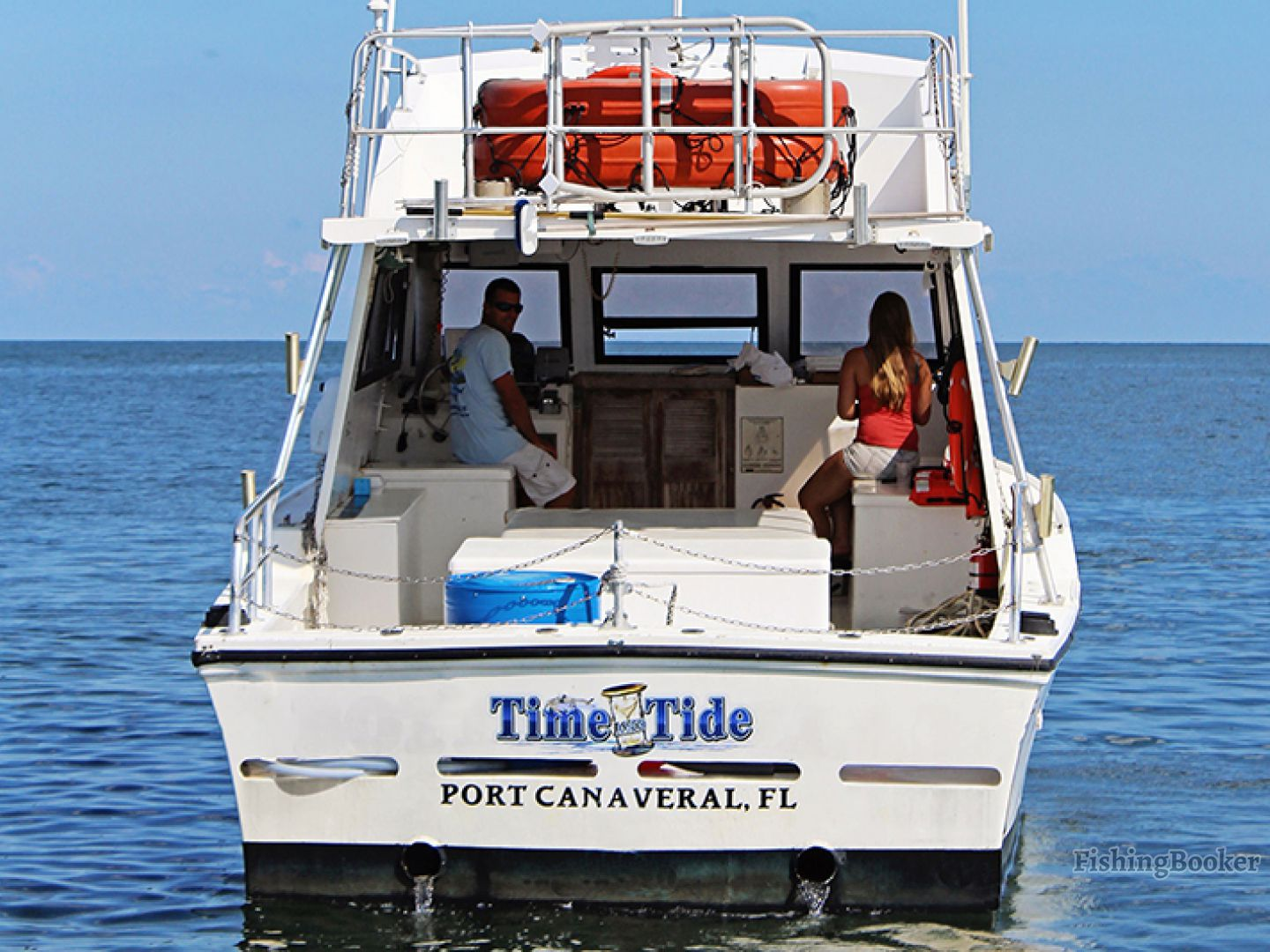 Time and tide tours port canaveral florida for Port canaveral fishing