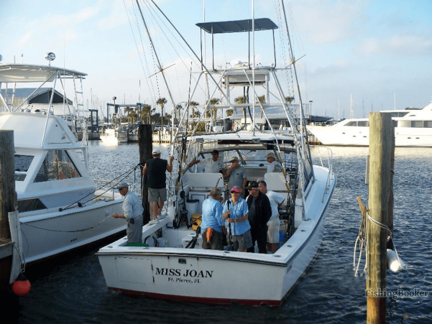 Miss joan deep sea fishing fort pierce florida for Fishing charters fort pierce fl
