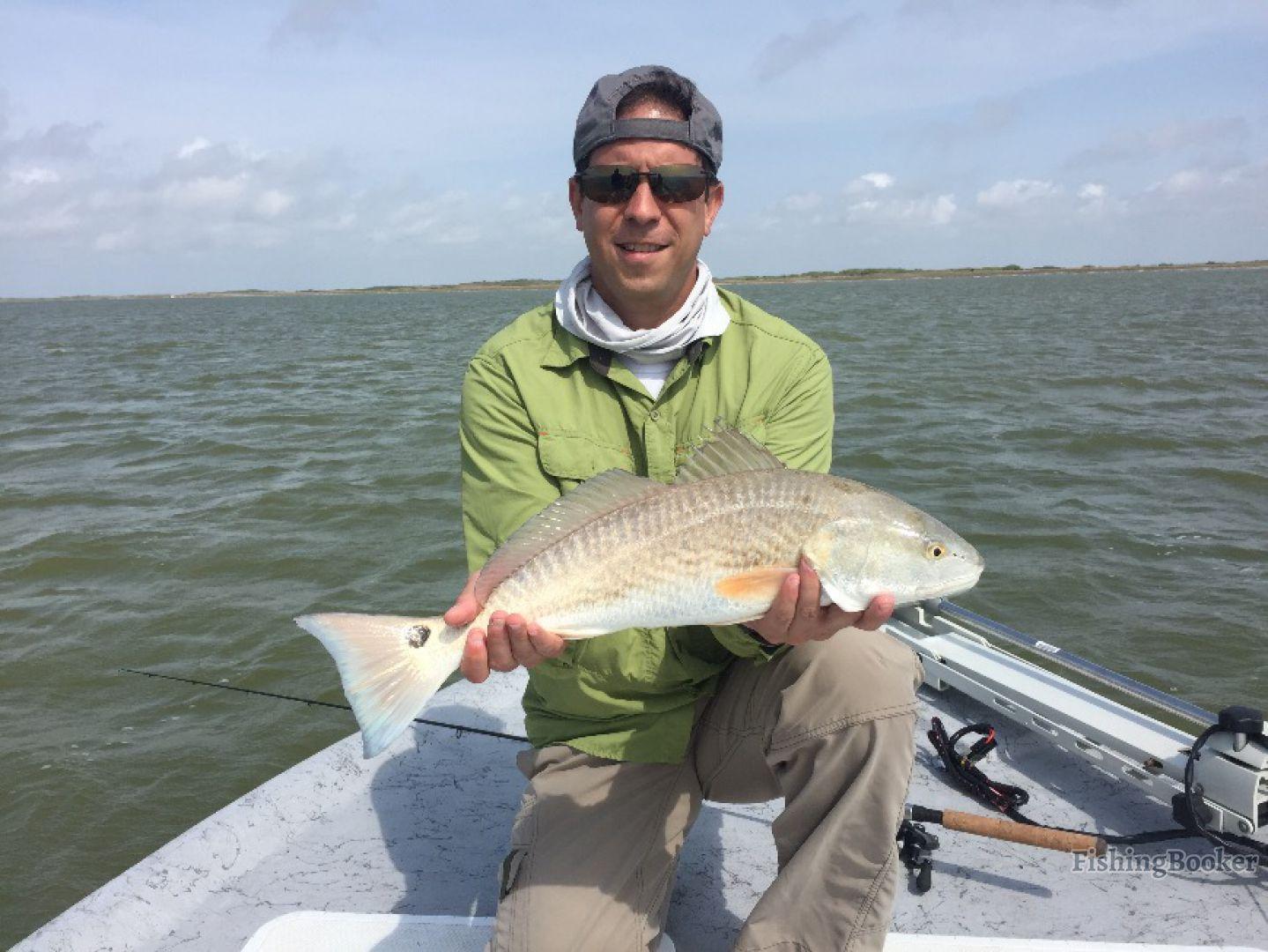 Hunter bay charters no fish no pay corpus christi texas for Corpus christi fishing guides