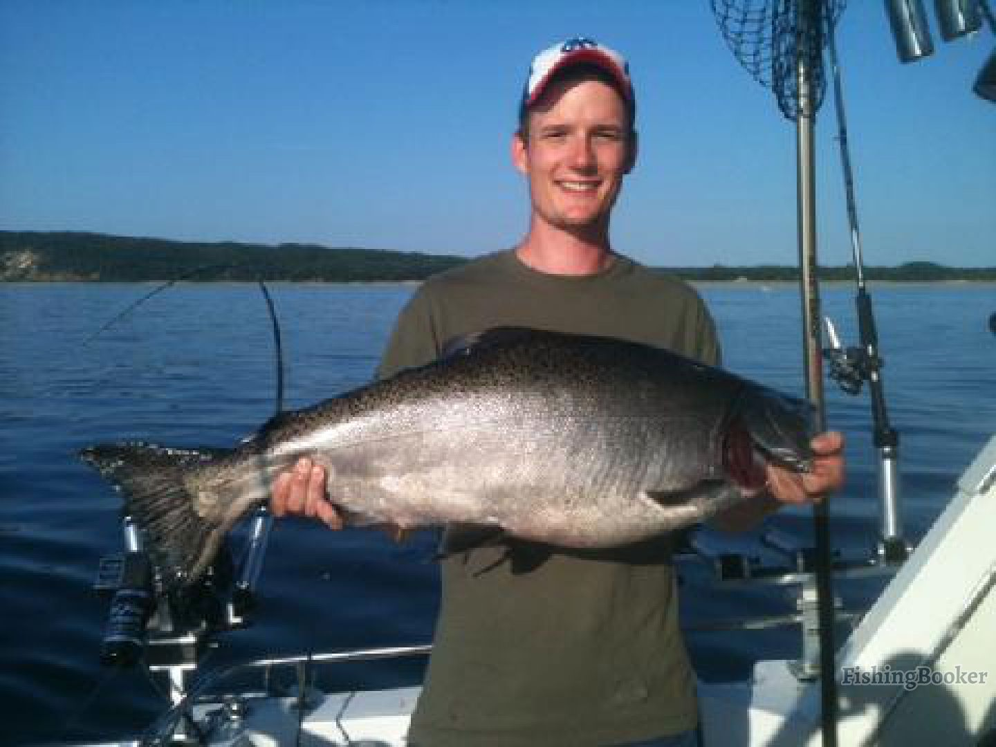 Prime time fishing charters traverse city michigan for Traverse city fishing charters