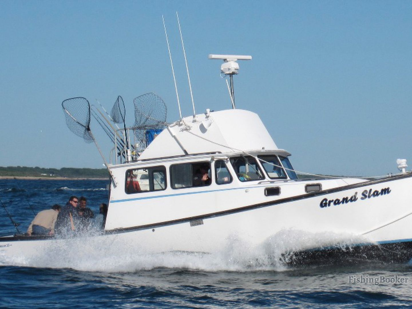 Grand slam charters montauk ny montauk new york for Ri fishing charters