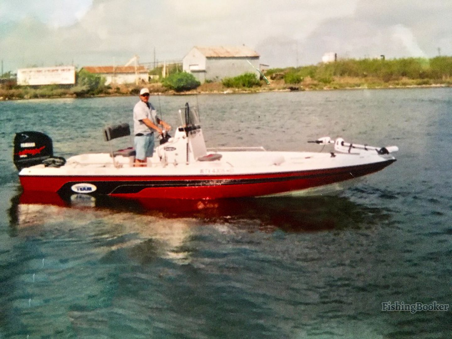 Wing rod guide saltwater bay rockport texas for Rockport fishing guides