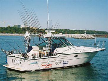 Top 10 fishing charters in lake michigan united states for Michigan fishing charters