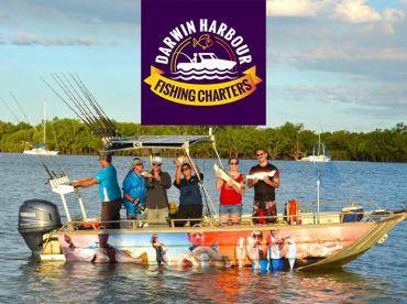 Darwin Harbour Fishing Charters, Darwin