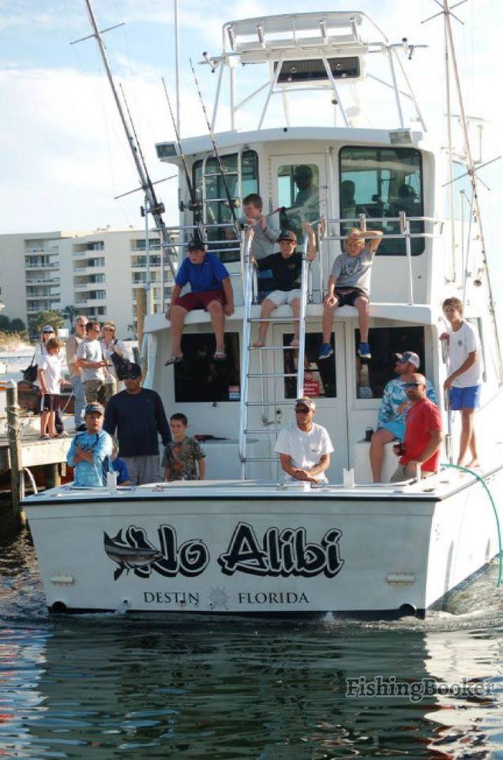 No alibi fishing charters destin florida for Destin florida fishing trips