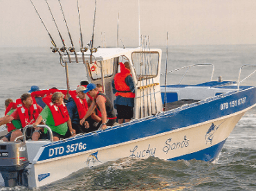 Lucky Sands Fishing Charters , Margate