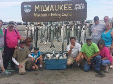 Manhardt Charters Lake Michigan , Milwaukee