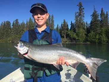 Alaska Kenai Fishing For Fun, Soldotna