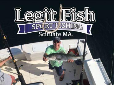 Legit Fish Sport Fishing, Scituate