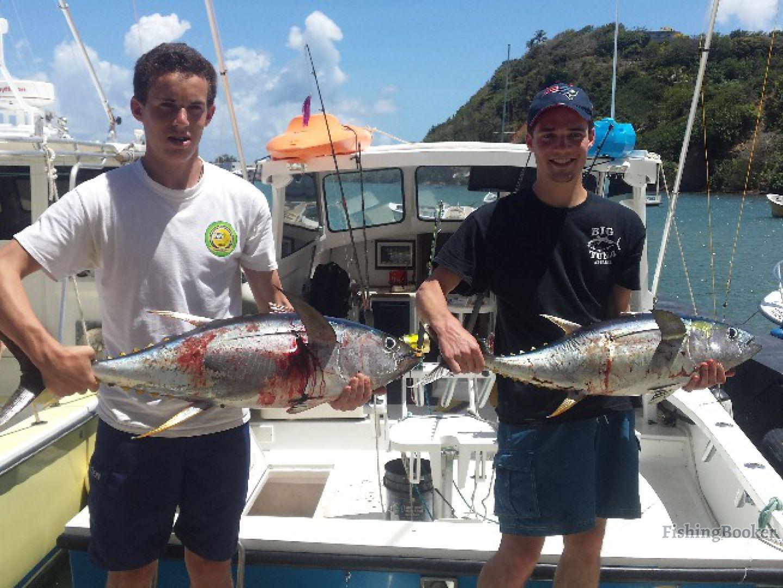 Konklma fishing charters fajardo puerto rico for Puerto rico fishing charters