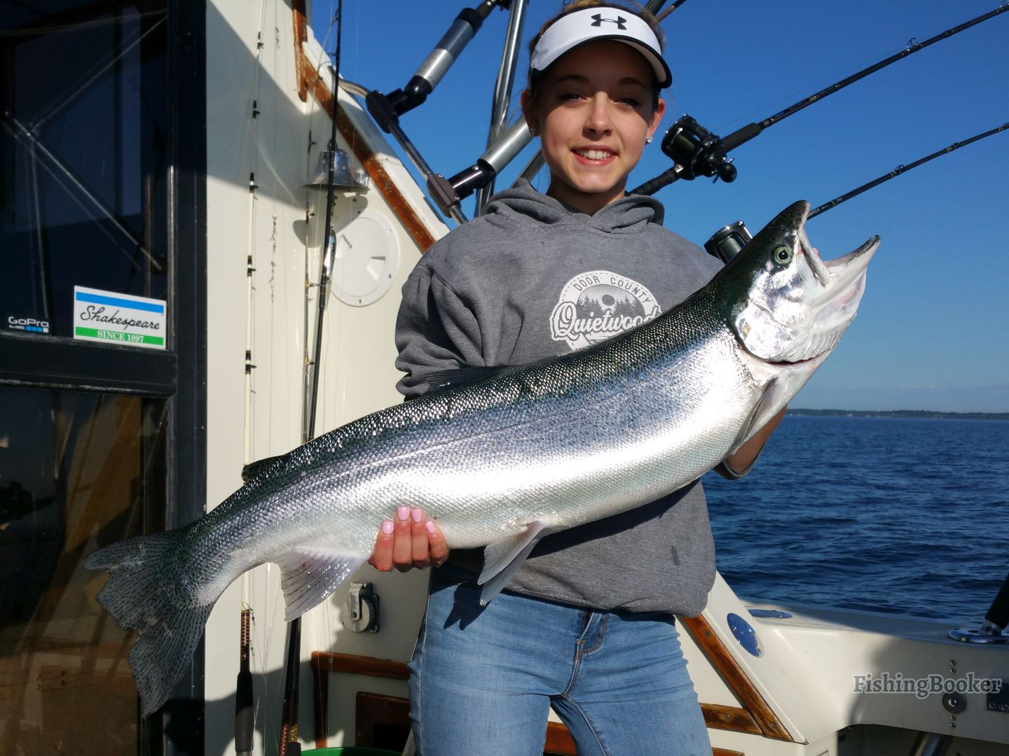 Rv charters lake michigan sportfish algoma wisconsin for Algoma fishing charters