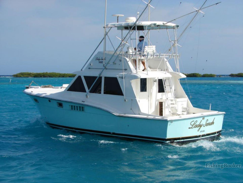 Lady sarah 40 hatteras oranjestad aruba for Hatteras fishing charters