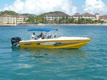 Exodus Boat Charters - Speed Boats , Rodney Bay