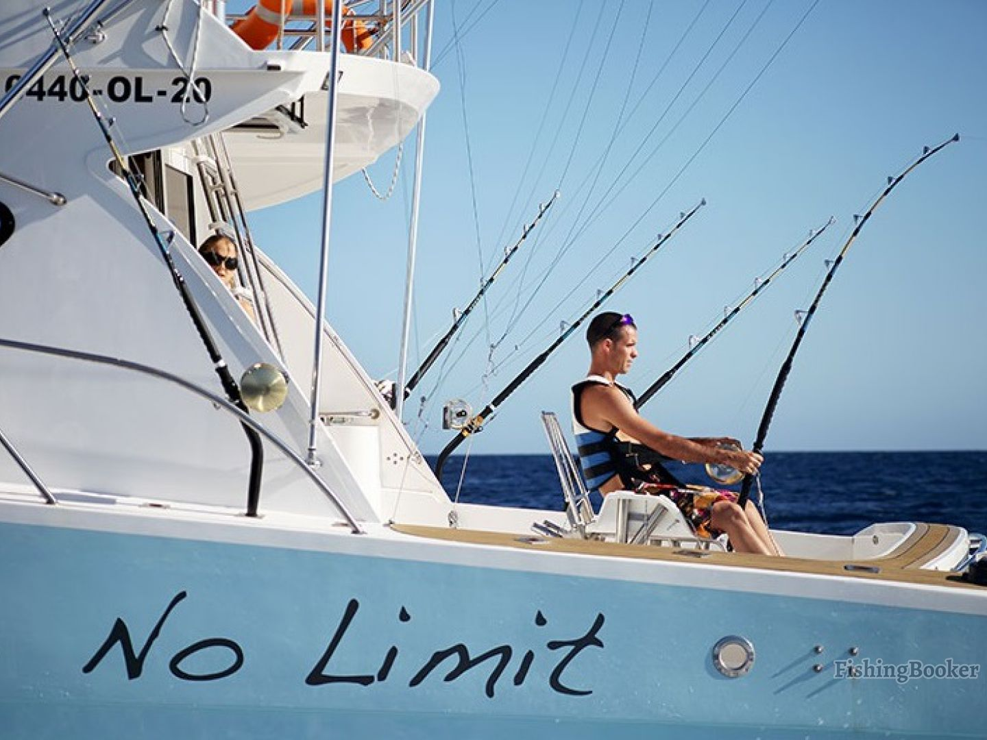 No limit big game fishing charter noire grande riviere for Big game fishing
