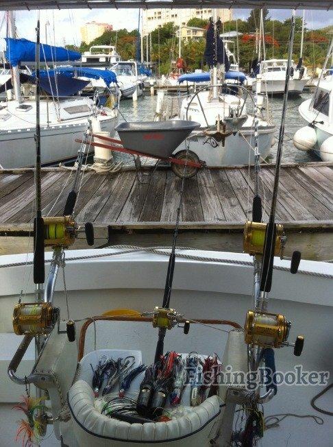 Bill wraps fishing charters pr fajardo puerto rico for Wrap fishing system