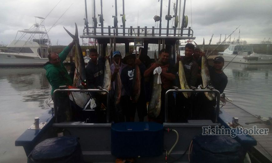 hook up charters durban Enjoy the best deep sea fishing charter in durban  get excited at the set of the hook,  fishing then it's time to sign up with us to see how .