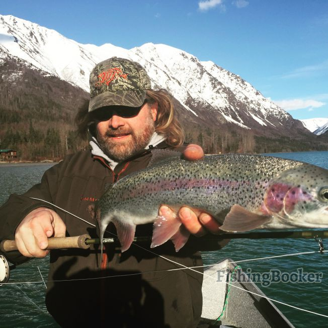 Jason 39 s guide service the kenai is hot cooper landing for Cooper landing fishing guides