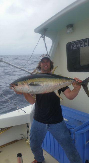 Yellowfin tunas beaufort inlet nc atlantic beach for Nc fishing report