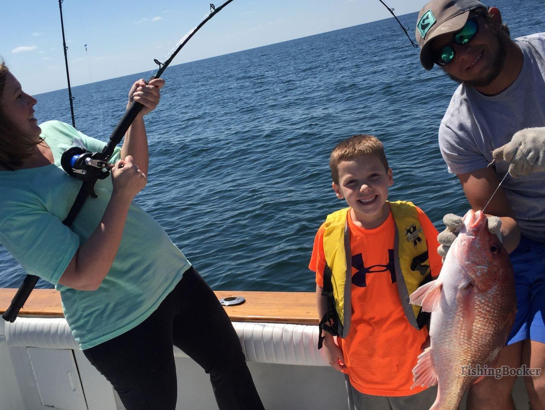 Family fun fishing warsaw grouper orange beach fishing for Orange beach fishing report