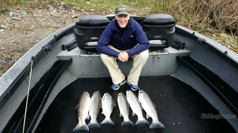Cowlitz river steelhead battle ground fishing report for Cowlitz river fishing report