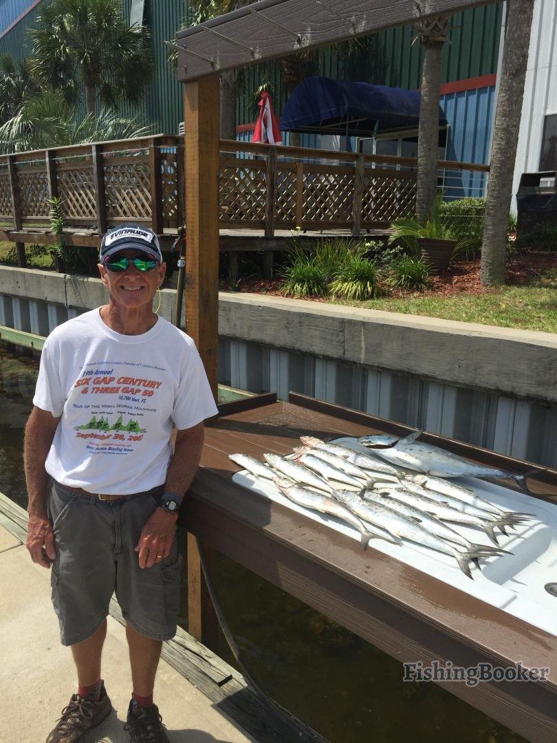 Spanish mackerel fort walton beach fishing report for Fort walton beach fishing