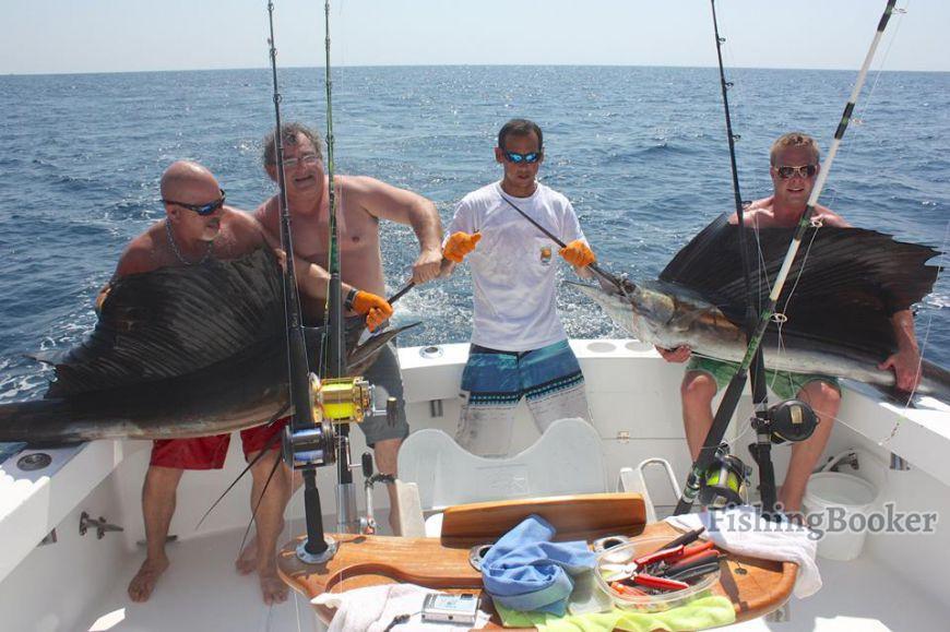Fishing report los suenos good day too jaco fishing for Good day for fishing