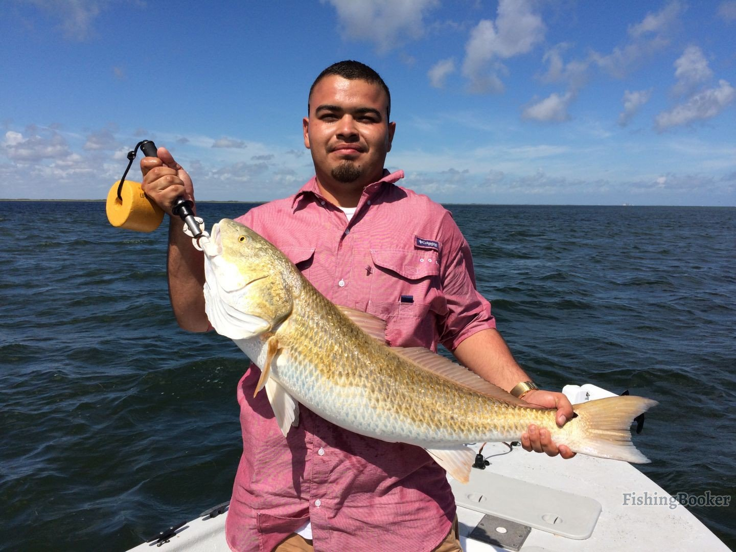 Big redfish plus trout and drum corpus christi fishing for Seven b s fishing report