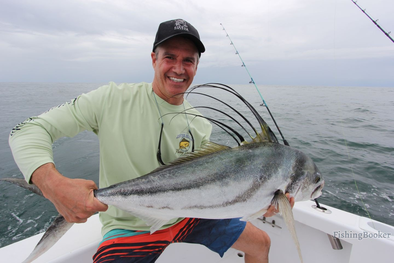 Roosterfish in quepos costa rica quepos fishing report for Costa rica fishing report