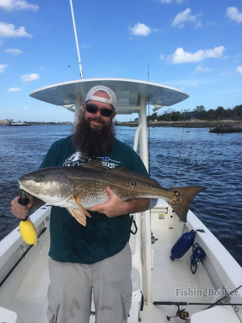 Late december early january fishing jacksonville fishing for Seven b s fishing report
