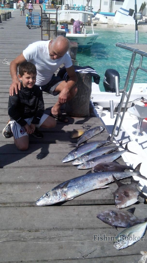 Great day puerto morelos fishing report for Puerto morelos fishing