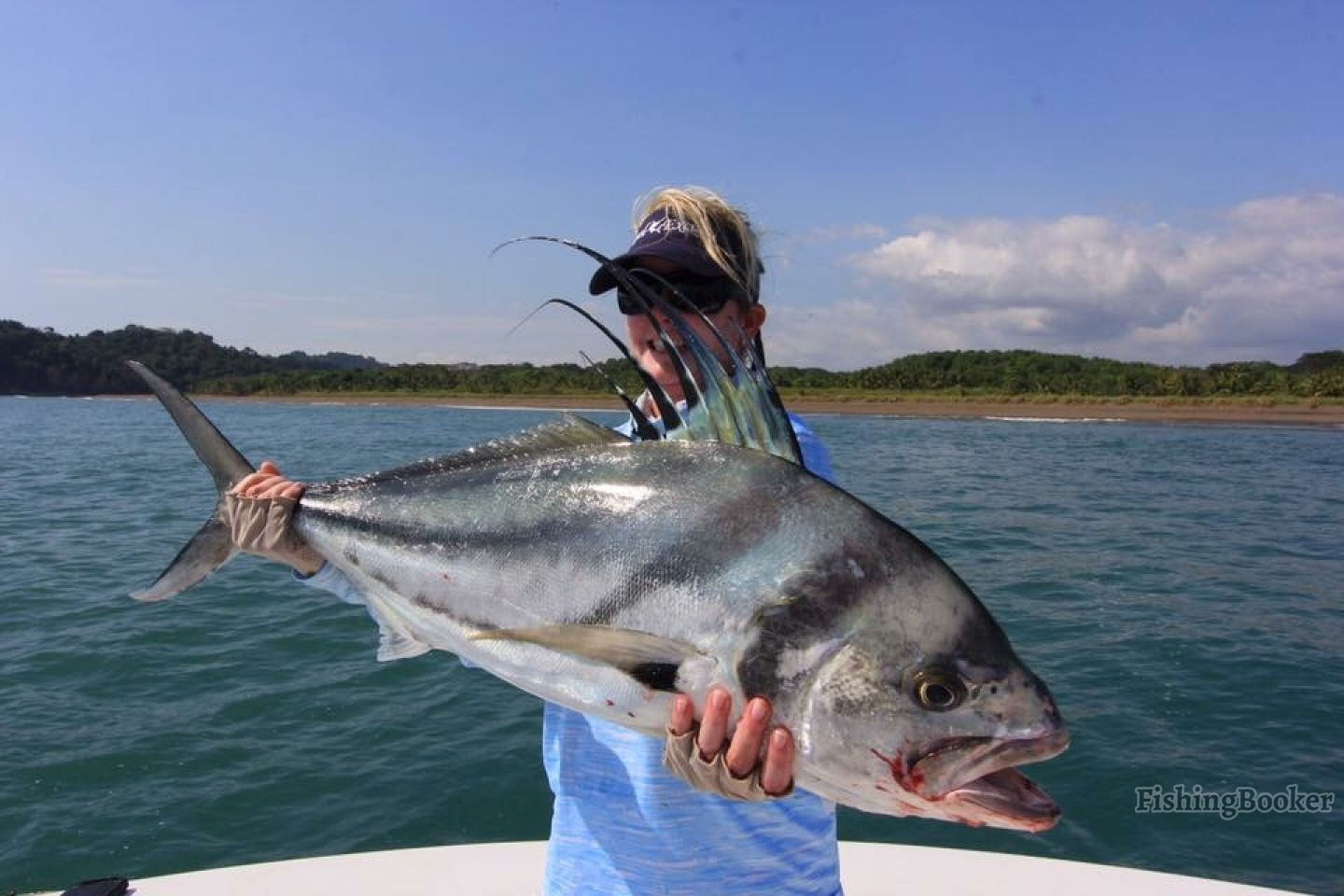 Rooster fishing in quepos costa rica quepos fishing for Costa rica fishing report