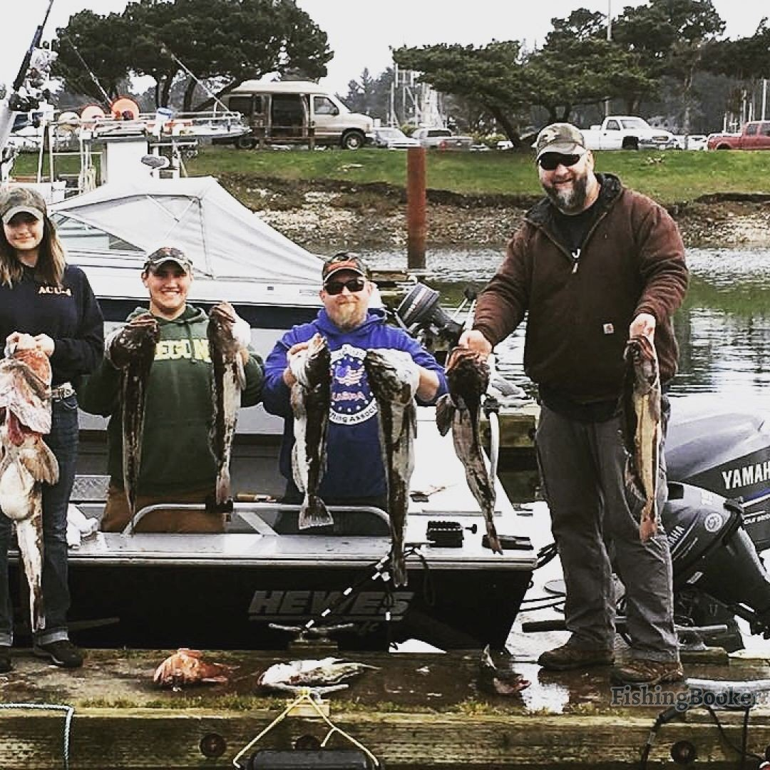 Lingcod out of charleston coos bay fishing report for Coos bay fishing charters