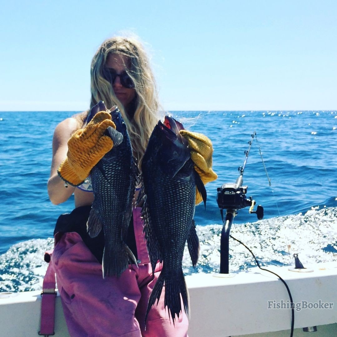 Jumbo black bass atlantic beach fishing report for Atlantic beach fishing report