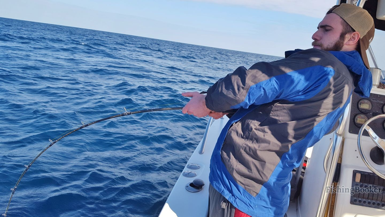 Bowed up on a big jack orange beach fishing report for Orange beach fishing report