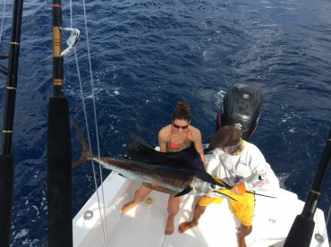 Allin sportfishing 28 mako jac costa rica for Costa rica fishing calendar